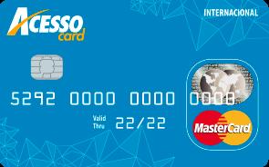 Cartão pré pago AcessoCard