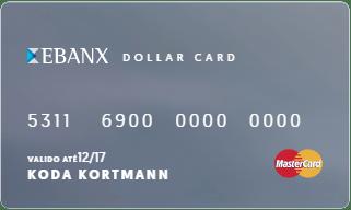 Cartão pré pago Dollar Card