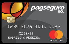 Cartão pré pago PagSeguro