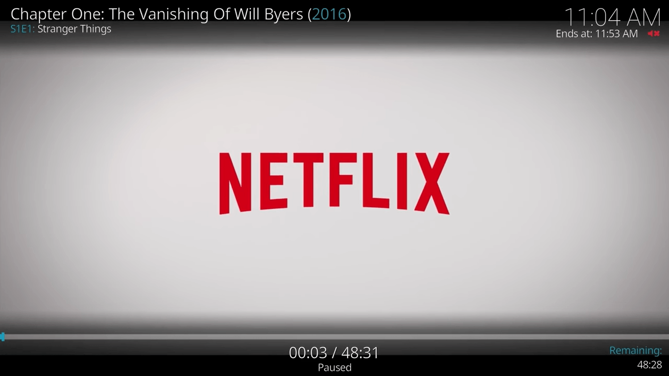 Netflix no Kodi