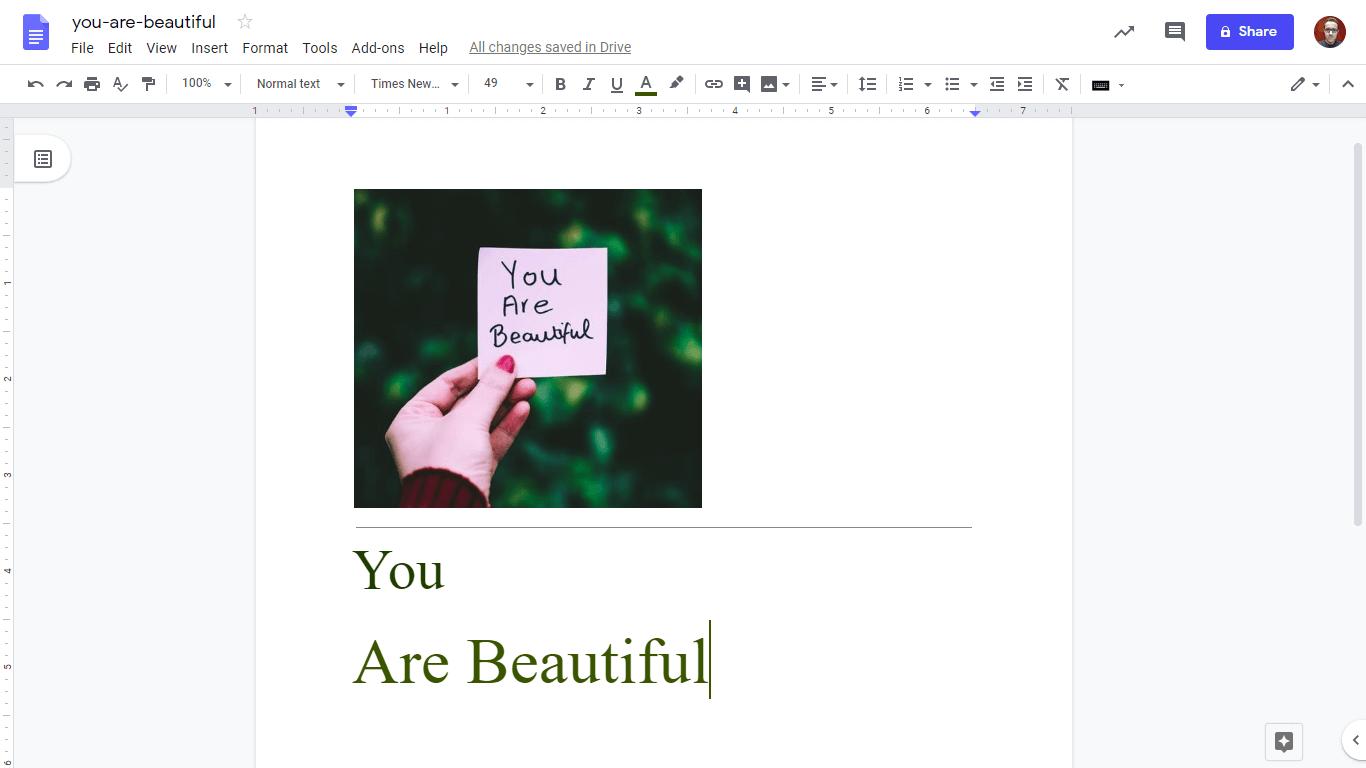 Google Docs: extraia o texto de uma imagem